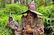 Freaky Garden Gnomes - Mystical, Hobbit-Like Garden Sculptures Plunked Around Australia