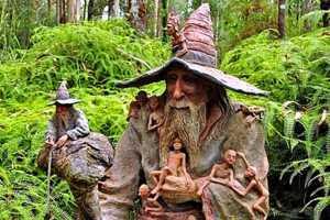 Mystical, Hobbit-Like Garden Sculptures Plunked Around Australia