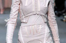 Garter Belts as Fashion - Richard Nicoll Uses Stocking Hardware as Fashion Detail