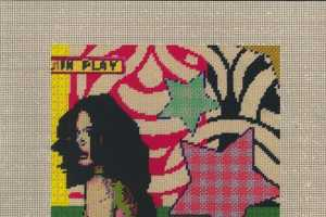 Cutting Edge Modern Art Through Needlepoint by Maria E. Piñeres