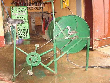 Bicycle-Powered Washing Machines