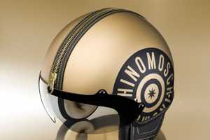 Moschino Fashions Jet Helmets To Protect Motorists