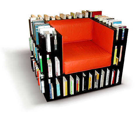 39  Novel Ideas For Unique Bookshelves and Home Libraries