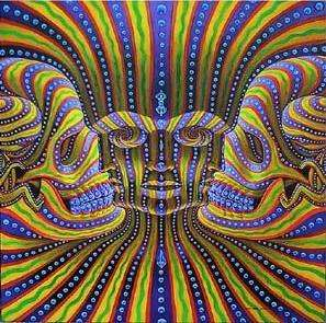 Hallucinogenic Paintings