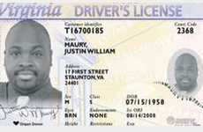 Virginia Introduces Black & White Driver's Licenses