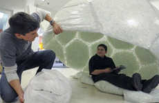 12-Year-Old Designs 'Home Dome' From Recycled Products