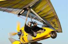 $50,000 Flying Cars - Air Creations' Tanarg Trike Makes Personal Aircrafts Affordable