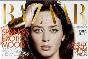 Emily Blunt in Harper's Bazaar Fashion Issue