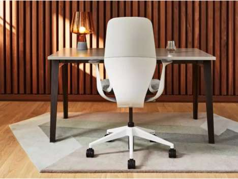 wonderful futuristic office desk   Furniture Design