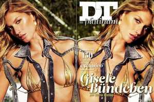 DT Platinum Flips Gisele Bundchen For Financial Trouble
