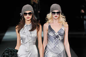 Armani Uses the Buddy System for Fall 2009
