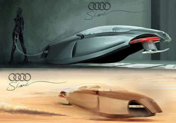 Cocoon-Inspired Cars