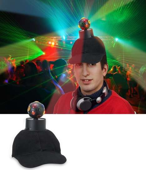 Nerdy Party Gear - The Disco Ball Hat is Absolutely Brutal