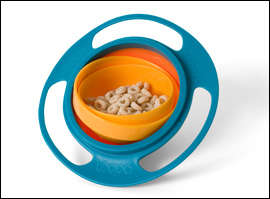 Gyroscopic Snack Bowls