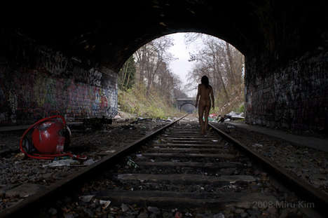 Clothes-Free Urban Explorers