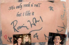 Autograph Tattoos - Permanent Inked Celebrity Signatures