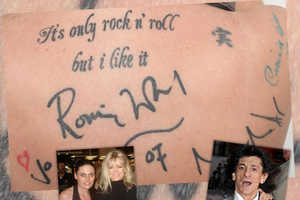 Permanent Inked Celebrity Signatures