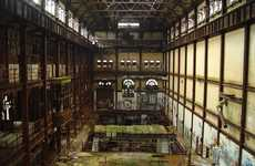 Abandoned Building Photography - Visually Brilliant Derelict Power Plants Captured on Camera