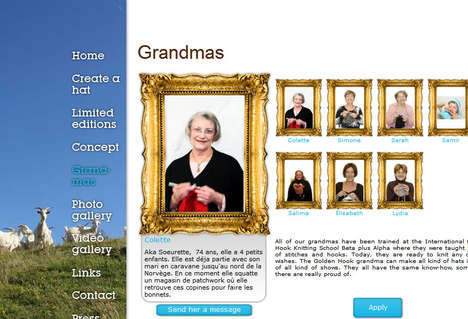 Grandmas for Rent - Goldenhook.fr Grandmas Knit Personalized Hats Just for You