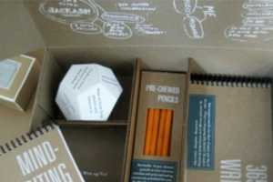 'The Kit to Thwart Writers Block' Stimulates Your Senses