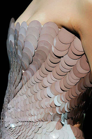Sexy Fish Scale Fashion