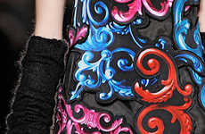 Elegant Scrollwork Fashion