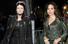 Head-to-Toe Black - Fendi Fall 2009 Went For Casual Blacks a la Angelina Jolie