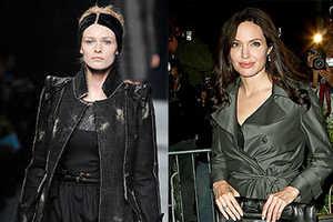 Fendi Fall 2009 Went For Casual Blacks a la Angelina Jolie