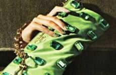 Rhinestone Manicures