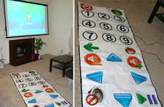 World's Largest Remote Control Made From DDR Mats