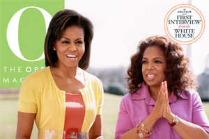 Michelle Obama and Oprah Winfrey Join Forces for O Magazine