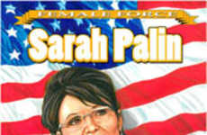 "Real Women as Superheroes - ""Female Force"" Comics Feature Sarah Palin and Hillary Clinton"