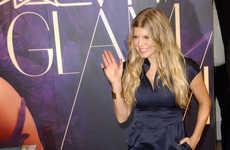 Socially-Conscious Cosmetics - Fergie Heads to LA to Promo 'Viva Glam' Lipstick