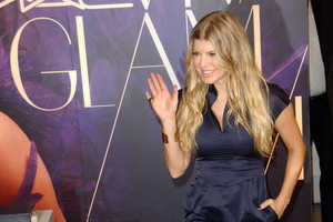 Fergie Heads to LA to Promo 'Viva Glam' Lipstick