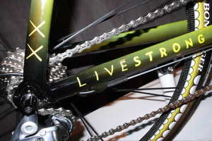 KAWS TREK Madone Bicycle for Lance Armstrong Features Graffiti Graphics