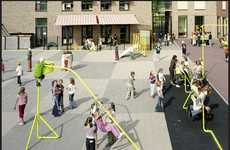 String-Inspired Playground Equipment