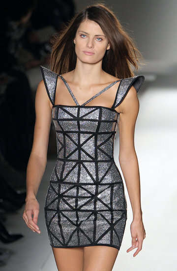 Glittery Geometric Fashion