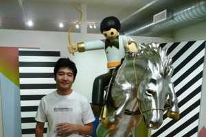 Tomokazu Matsuyama's Solo Show at Joshua Liner Gallery
