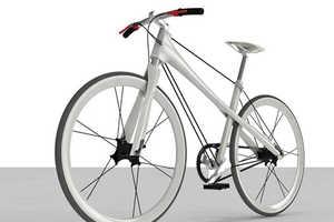 Ionut Predescu's Tensegrity Bike Balances Compression & Tension