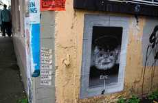 'Guess Who?' Graffiti