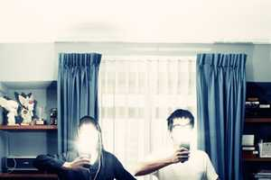 Oats & Sparkle Self-Portraits Use Camera Flashes as 'God's Given Light'