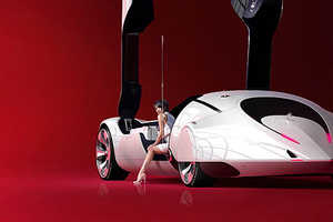 The Futuristic Automotive Imaginations Of Daniel Simon