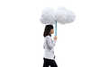 Inflatable Cloud Umbrellas