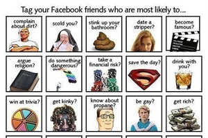 Facebook Meme Is All About Tagging Photos With Insults or Whimsey
