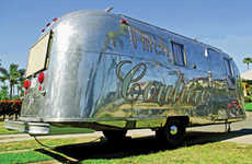 Independent Designer Goes Mobile in Her Airstream 'Hitch Couture'