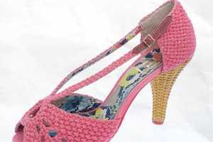 Footwear by 'Miss L Fire' Fit For Cinderella and Snow White