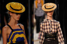 Channeling Jackie Kennedy - Pill Box Hats Are Back in Style for Spring/Summer 2009