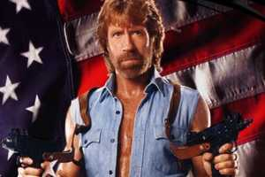 Chuck Norris Makes Fun of Himself On His Own Shirts