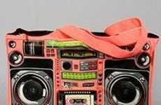 The Loop NYC Ghetto Blaster Bag Has Real Speakers