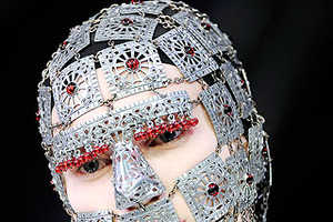 Alexander McQueen's Extreme Warrior Masks Make You A Chic Tinman